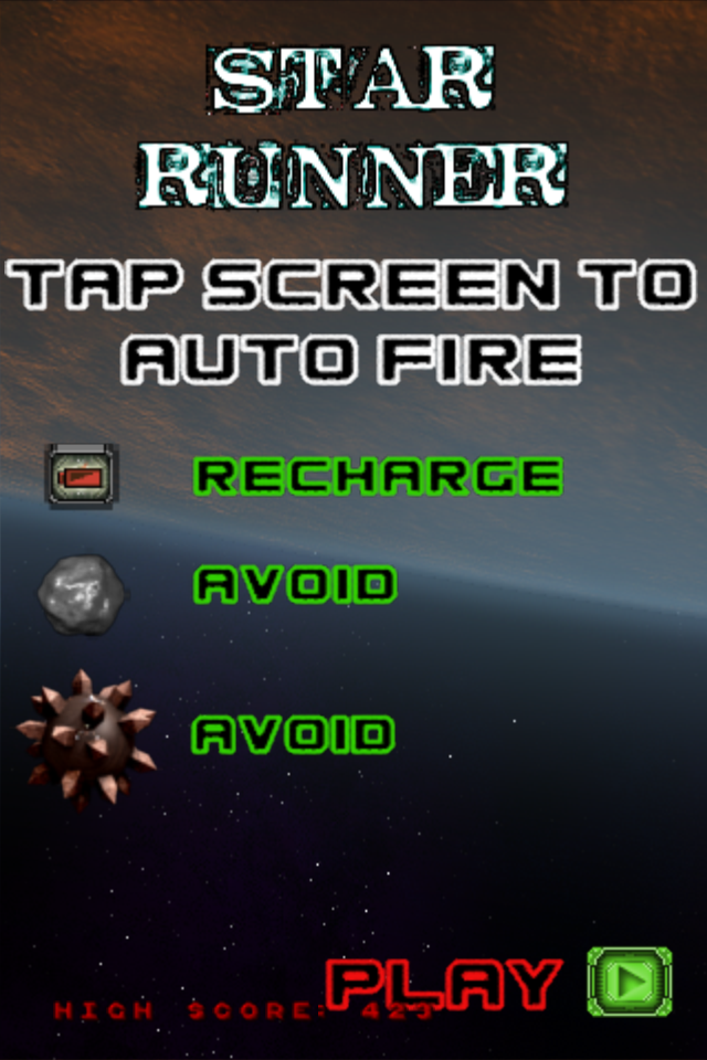 Screenshot Star Runner