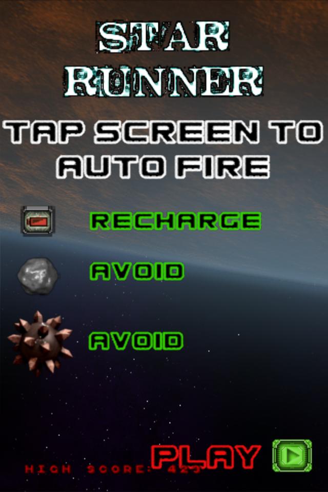 Screenshot Star Runner
